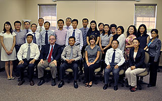 Chinese Governance Academy Sends Faculty to Institute for Training Program