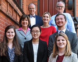 Vinson Fellows Give Presentations on Spring Semester Internship Projects