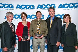ACCG Honors Institute Faculty Members for Developing new Training Curriculum