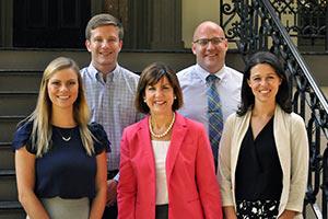 Fall Semester Cohort of Three Vinson Fellows Starts Internships