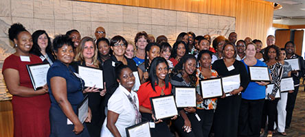 State Finance Officers Achieve Certification