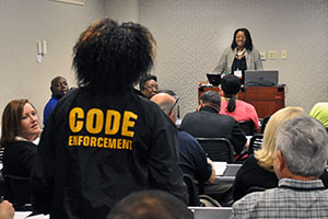 New Code Enforcement Training Curriculum Developed by Institute Faculty