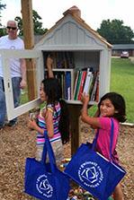 Institute-Led Management Development Class Donates Children's Free Library