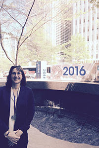 Institute faculty member gives public health presentation at World Bank forum