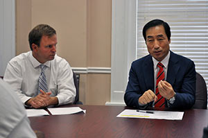 Institute coordinates Athens leaders' cultural and educational exchange trip to Korea