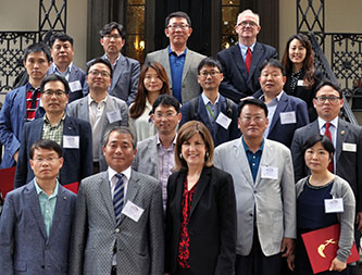 Institute Hosts 14-Member Training Delegation from Governors Association of Korea
