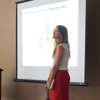 Redevelopment proposals for textile mill site presented to Rossville community leaders
