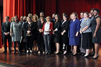 Chancellor recognizes library professional development program graduates