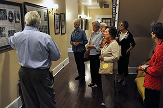 Former Lucy Cobb residents reminisce during tour with Institute director