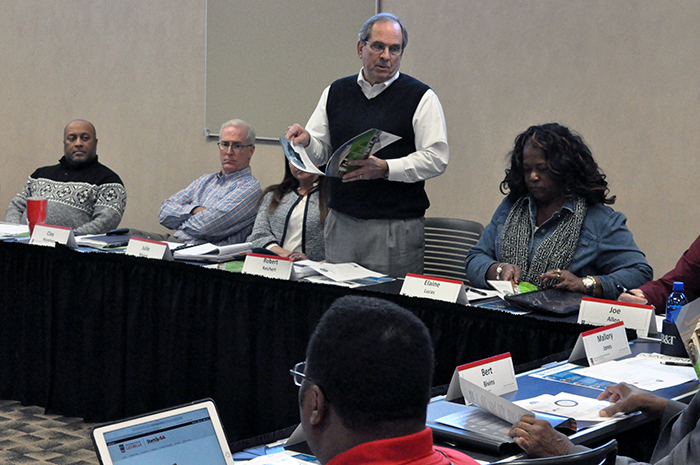 The Institute facilitated a retreat where Macon-Bibb County government officials set priorities for upcoming sales tax projects.