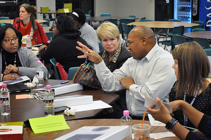 Part of the training program that the Institute developed for Clarke County school governance teams is being adapted for other Georgia charter districts to use.