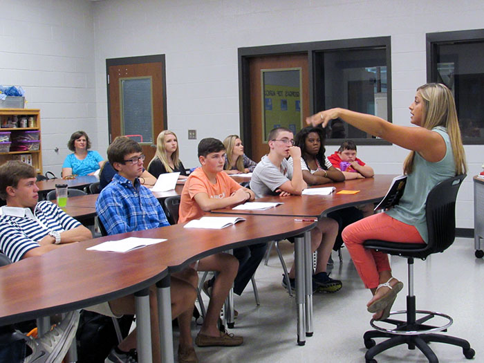 Hart County career academy's program informed by Institute strategic plan