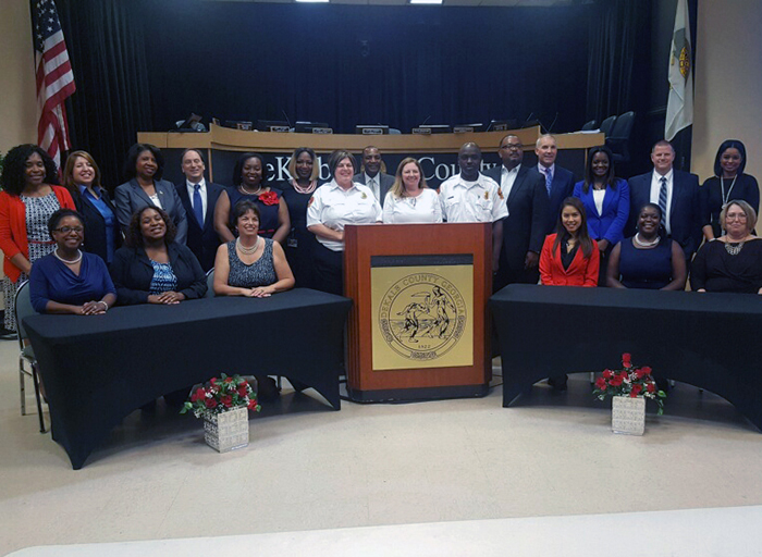 Executives and managers with the DeKalb County government are enhancing their leadership skills through the Bright Futures training program created and delivered by the Institute of Government.