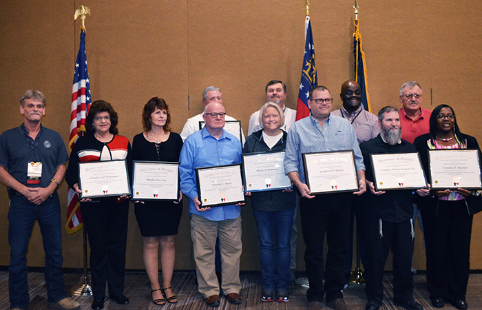 Code officers honored for completing Institute's advanced training program