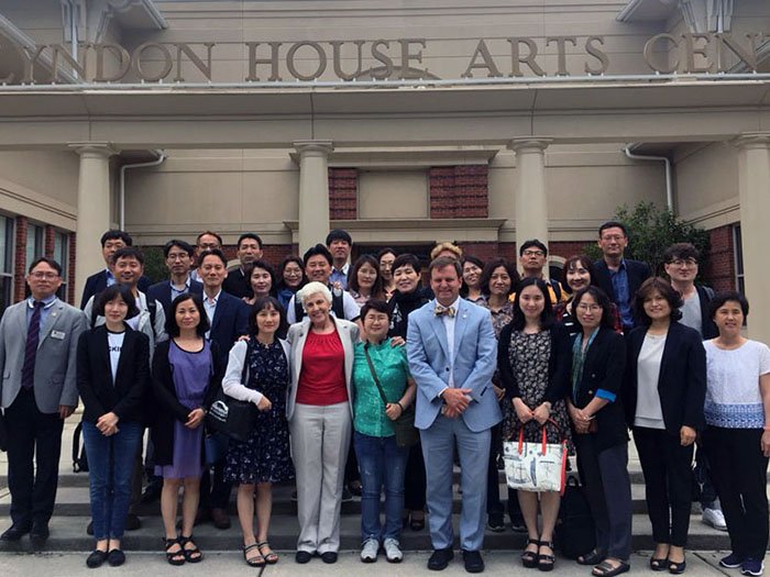 Over two dozen South Korean officials learned first-hand how American local government operates through an intensive training program and job-shadowing experience the Institute developed with the Athens-Clarke County Unified Government and UGA's Intensive English Program.
