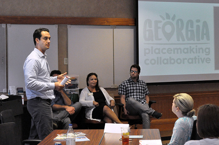 The new Georgia Placemaking Collaborative draws on expertise from the Institute of Government, the Georgia Municipal Association and other partners to help cities address community needs through the placemaking design process.