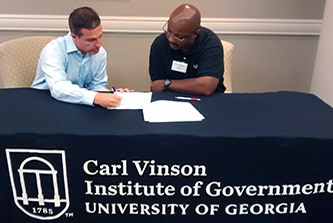 The GOV360® assessment tool that the Vinson Institute developed for government managers is being incorporated into certified public manager programs in Kansas and Virginia. It is already part of the Georgia CPM program.