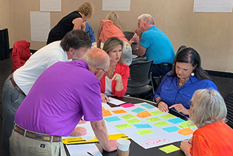 Jackson County commissioners and school system leaders collaborated at an Institute of Government retreat and emerged with an action plan to find solutions for shared issues such as school locations, traffic management needs and park and recreation use.