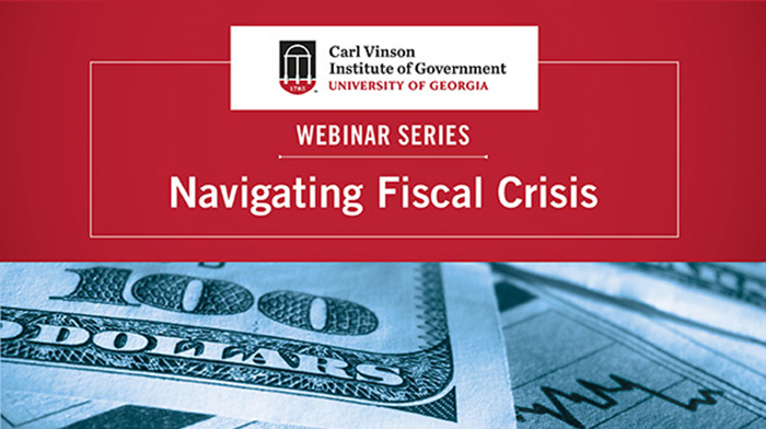 Leaders in local and state government, economic development and education attended the free Navigating Fiscal Crisis webinar series the Institute created this spring to provide expert information and easy-to-use tools for coping with pandemic-related challenges.