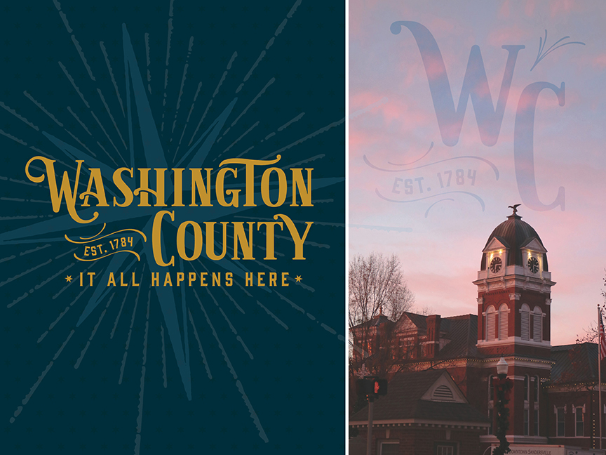 Washington County and all eight of its cities are planning to unveil a distinctive community brand that the Institute of Government developed in collaboration with a local steering committee and the UGA Archway Partnership.