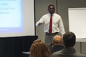 Classes presented at the Cities United Summit included a session about where to find funding sources to help local governments address capital improvement needs.