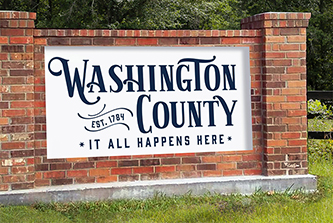 The Washington County branding initiative is a recipient of a 2021 Four for the Future Award.