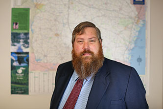 Eric McRae, associate director for Information Technology Outreach Services at the Institute of Government, continues to promote and educate the public and providers on Georgia's broadband mapping project.