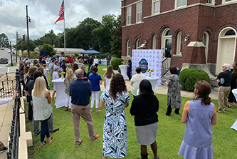 The Moultrie–Colquitt County Development Authority, Chamber of Commerce and Archway Partnership hosted a brand launch reception in late August.