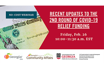 UGA schedules another webinar to help entertainment businesses and nonprofits apply for federal money