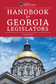 Handbook for Georgia Legislators
