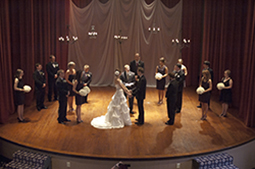 Seney-Stovall Chapel theater wedding