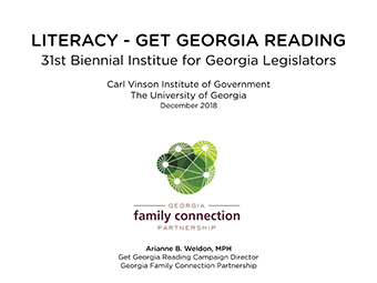 Literacy - Get Georgia Reading