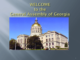 Welcome to the General Assembly of Georgia