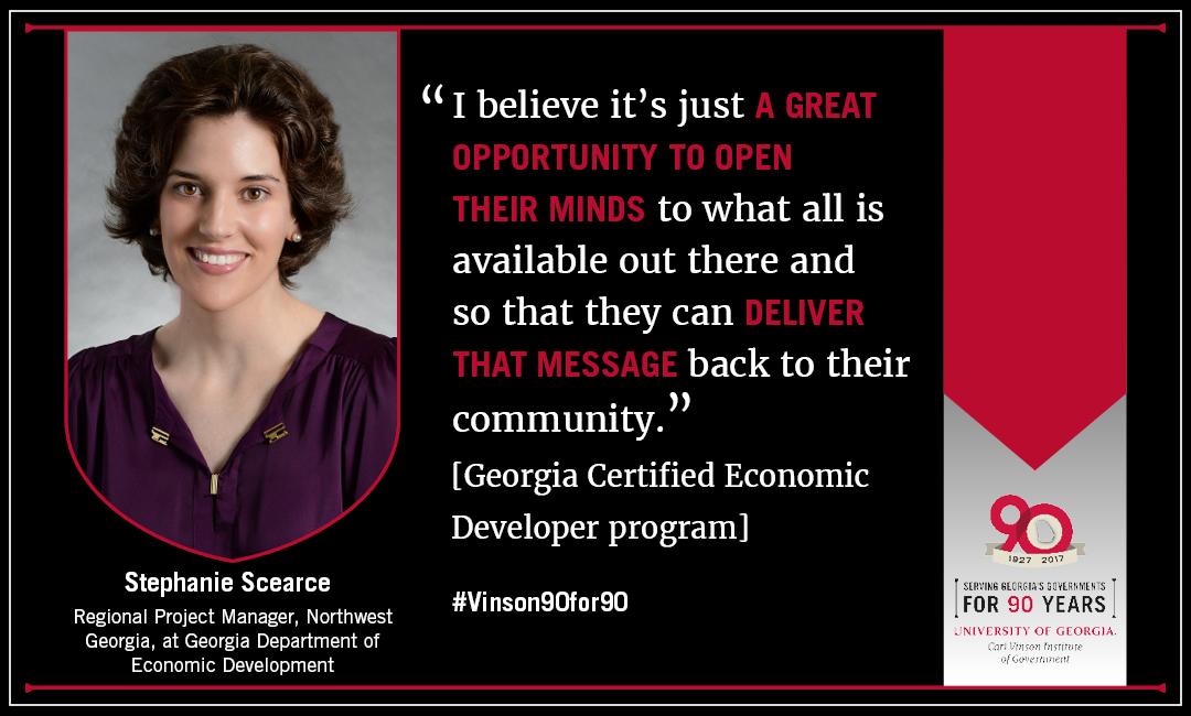 georgia certified economic developer program