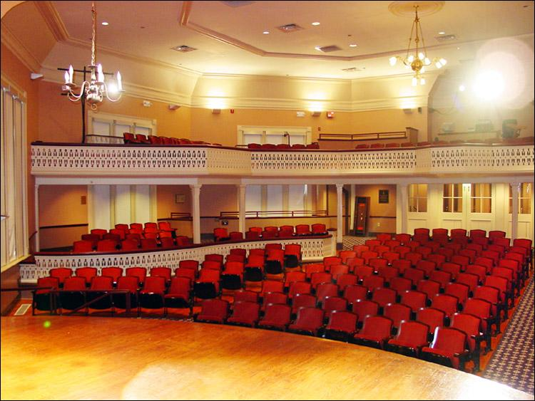 Seney-Stovall Chapel Stage View